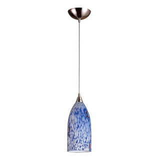 Elk Lighting Verona 1-light Satin Nickel Pendant