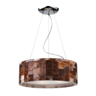 Trevett 3-light Polished Chrome Pendant