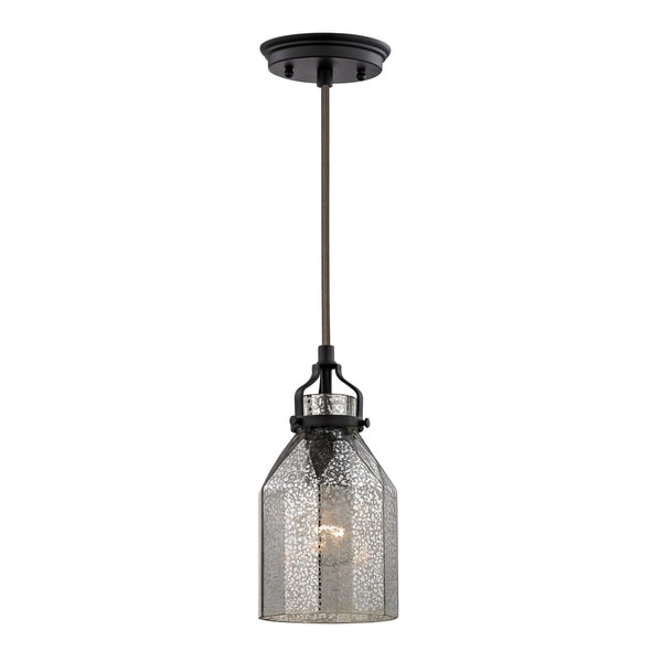 Elk Lighting Home Danica 1-light Oiled Rubbed Bronze Mini Pendant