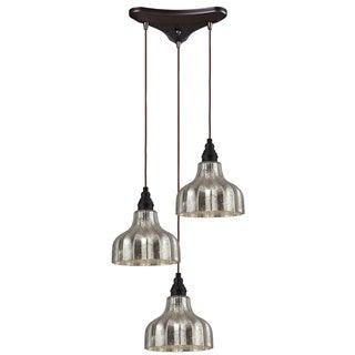 Elk Lighting Home Danica 3-light Oiled Bronze Pendant