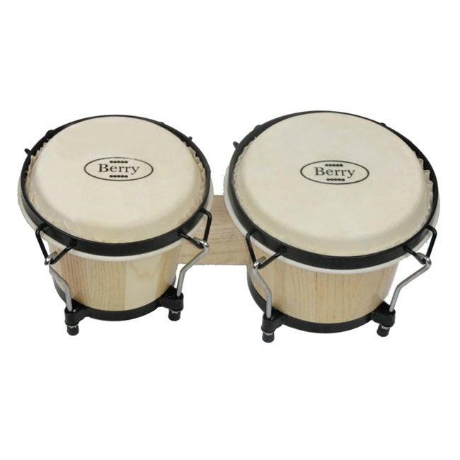 Merske Berry (Pink) Toys Junior Bongo Drums
