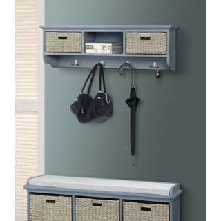 Gallerie Decor Newport 3-basket Storage Shelf