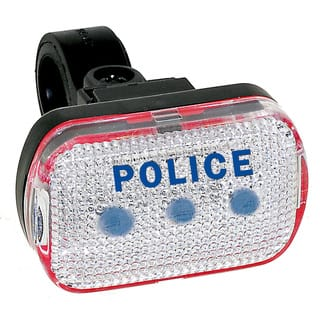 Police Blue LED Taillight (Option: Clear)|https://ak1.ostkcdn.com/images/products/9499506/P16679618.jpg?impolicy=medium