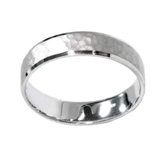 10k White Gold Men's 5mm Hammered Wedding Band https://ak1.ostkcdn.com/images/products/9499581/P16679664.jpg?impolicy=medium