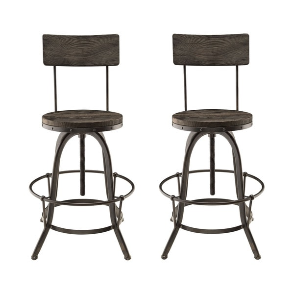 Shop Procure Bar Stools Set Of 2 Free Shipping Today