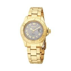 Women's Invicta Angel Quartz 3 Hand Gold Stainless Steel/Light Grey