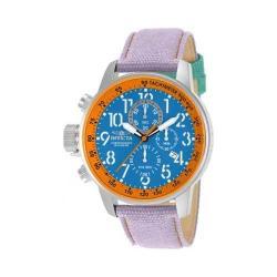 Men's Invicta Force 12076 Purple Leather/Blue