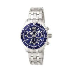 Invicta Men's 0620 'Specialty' Chronograph Stainless Steel Watch - Thumbnail 0