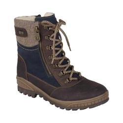 Women's Remonte D0679 Lace Up Boot Kastanie/Marine/Wood
