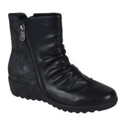 Women's Remonte D0274 Ankle Boot Schwarz/Graphit