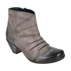 Women's Remonte D1298 Ankle Boot Asphalt/Cigar