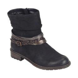 Women's Remonte R3354 Ankle Boot Schwarz/Antik/Altgold