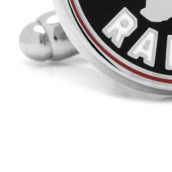 Men's Cufflinks Inc Toronto Raptors Cufflinks PD-RAP2 Black