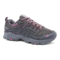 Women's Fila At Peake Dark Shadow/Castlerock/Knockout Pink