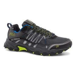 Men's Fila At Tractile Trail Shoe Castlerock/Black/Lime Punch