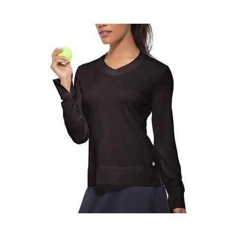 Women's Fila Core Long Sleeve Top Black