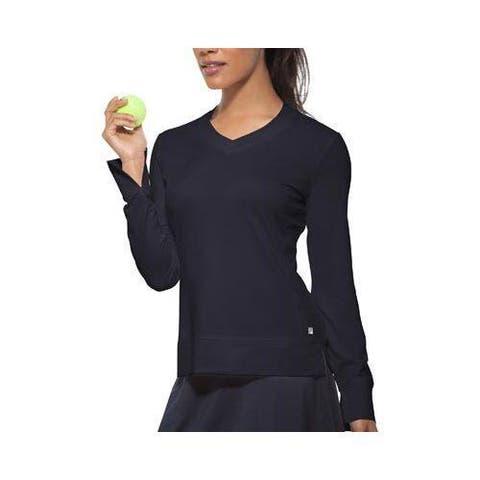 Women's Fila Core Long Sleeve Top Peacoat