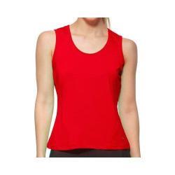 Women's Fila Core Full Coverage Tank Crimson