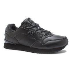 Women's Fila Cress Sneaker Black/Castlerock/Metallic Silver