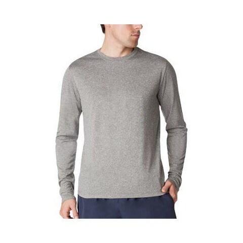 Men's Fila Fundamental Heather Long Sleeve Shirt Varsity Heather