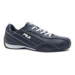Men's Fila Exalade 4 Sneaker Fila Navy/White/Metallic Silver