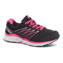 Children's Fila Gallactic Training Shoe Black/Knockout Pink/Cotton Candy
