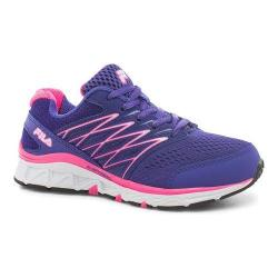 Children's Fila Gallactic Training Shoe Royal Blue/Knockout Pink/Cotton Candy