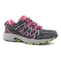 Women's Fila Headway 6 Trail Running Shoe Castlerock/Sugar Plum/Dark Shadow