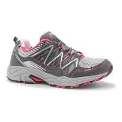 Women's Fila Headway 6 Trail Running Shoe Metallic Silver/Castlerock/Diva Pink|https://ak1.ostkcdn.com/images/products/95/193/P17821008.jpg?impolicy=medium