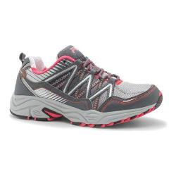 Women's Fila Headway 6 Trail Running Shoe Metallic Silver/Castlerock/Diva Pink