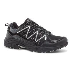 Men's Fila Headway 6 Trail Shoe Black/Black/Metallic Silver