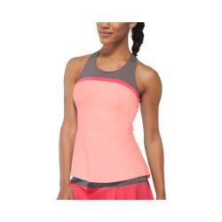 Women's Fila Illusion Cross Back Tank Top Peach Poise/Castlerock/Coral Slope