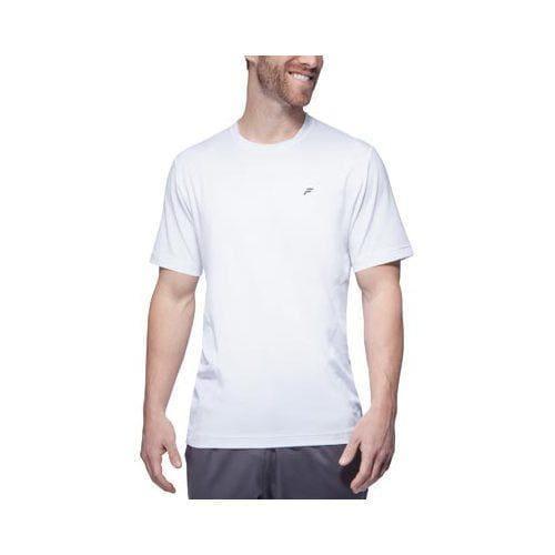 Men's Fila Platinum Body Mapped Crew Shirt White
