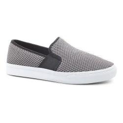 Women's Fila Memory Fanelli Mesh Slip-On Castlerock/Black/White