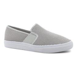 Women's Fila Memory Fanelli Mesh Slip-On Highrise/Highrise/White