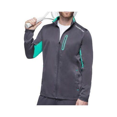 Men's Fila Platinum Jacket Nine Iron/Electric Green