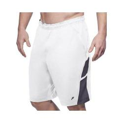 Men's Fila Platinum Short White/Nine Iron