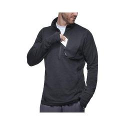 Men's Fila Polartec Half Zip Pullover Black