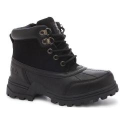Children's Fila Ridgewood Boot Black/Black/Black