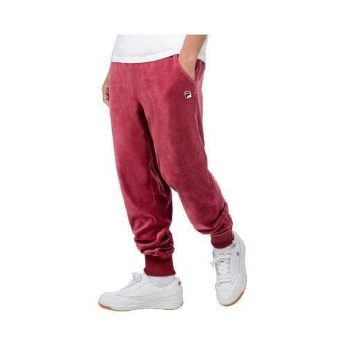 19146848085af Shop Men's Fila Slim Velour Pant Biking Red - Free Shipping Today -  Overstock - 10770305