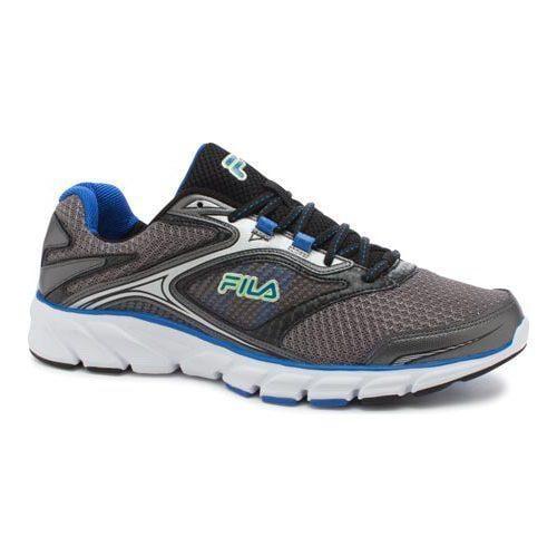 1cf20e6b182b Shop Men s Fila Stir Up Running Shoe Dark Silver Black Prince Blue - Free  Shipping Today - Overstock.com - 10770318
