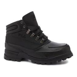 Men's Fila Shifter Black/Black/Dark Silver
