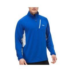 Men's Fila Skyline Half Zip Shirt Surf the Web/Highrise