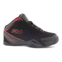 Boys' Fila Slam 12C Basketball Shoe Black/Black/Fila Red|https://ak1.ostkcdn.com/images/products/95/197/P17821221.jpg?impolicy=medium