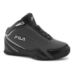 Boys' Fila Slam 12C Basketball Shoe Castlerock/Black/Metallic Silver