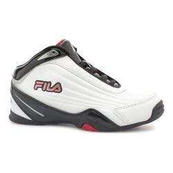 Boys' Fila Slam 12C Basketball Shoe White/Black/Fila Red