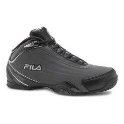 Men's Fila Slam 12C Basketball Shoe Castlerock/Black/Metallic Silver