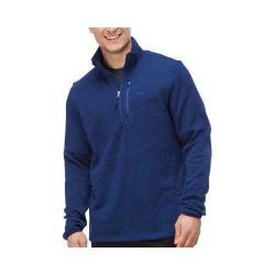 Men's Fila Sweather Half Zip Pullover Blue Depths Heather/Blue Depths Heather