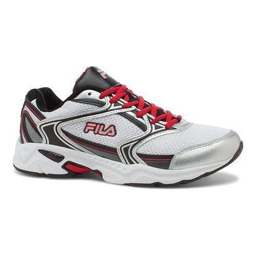 Men's Fila Xtent 2 Running Shoe White/Black/Fila Red