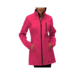 Women's Fila Venture Long Bonded Jacket Bright Rose/Black